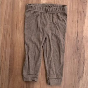 Brown Soft Pants - 12 months